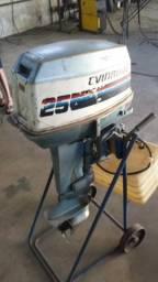 Motor evinrude 25 hp