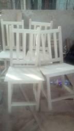 Cadeiras a unidade 30 reais novas