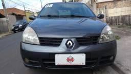 RENAULT CLIO 1.6 AUTHENTIQUE 16V FLEX 4P MANUAL. - 2008