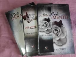 Livros Belo desastre vol. 1,2 e 3