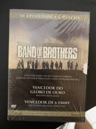 Box DVD Band of Brothers lacrado