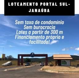 Lotes com parcelas a partir de R$315,00 em Janaúba