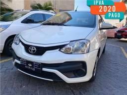 Toyota Etios sedan automatico impecavel rev na concessionaria! kit mult