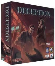 Jogo tabuleiro Deception - murder in Hong Kong