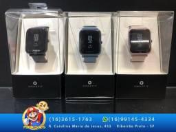 Relógio Amazfit - Rose, Preto e Azul