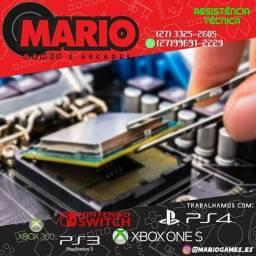 Assistência técnica de video Games e controles