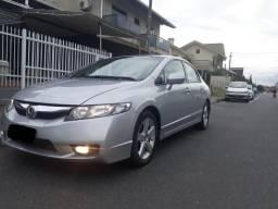 Honda Civic 2009-2010 Prata - Único Dono - 2010