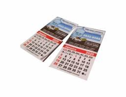 500 Imãs De Geladeira C/ Calendário 2021 - Embalados