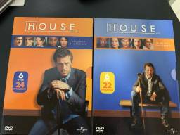 Box DVD House, as 2 primeiras temporadas