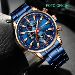 Relógios curren em promoção. Todos a prova dágua e funcionais