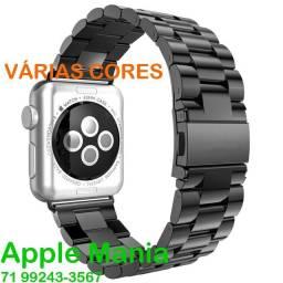 Pulseiras em Aço para Apple Watch *Várias Cores e Modelos