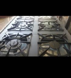 Fogão industrial seis bocas com forno