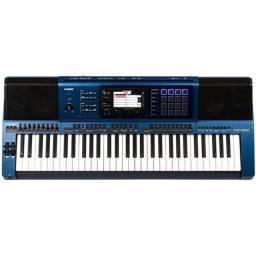 Teclado Casio MZ-X500 K2 BR Azul MZ X 500 - Garantia NF