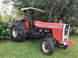 Trator Massey Ferguson 295 + Roçadeira + Plataforma