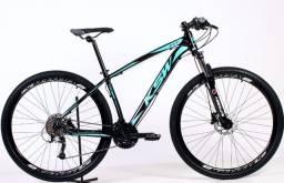 Bike Ksw Xlt 2020 27v Cubos K7 Freios Hidráulicos Susp Trava