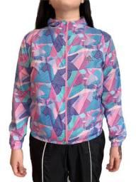 Jaqueta corta vento Adidas Feminino Nova para Academia