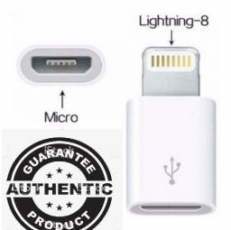 Produto autêntico Adaptador Apple Lightning OTG