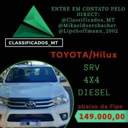 HILUX SRV 2018, 5 mil abaixo da Fipe
