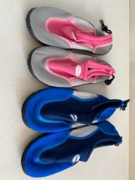 Sapatilhas aquáticas marca ProTecTs, importadas