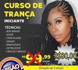 CURSO DE TRANÇAS AFRO