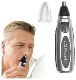 Máquina de aparar pêlos do nariz e orelha de alta precisão