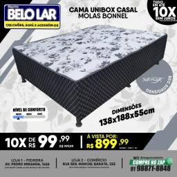 Título do anúncio: Cama Unibox Casal Molas Bonnel
