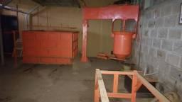 Máquina de fazer espuma para colchões e estofados