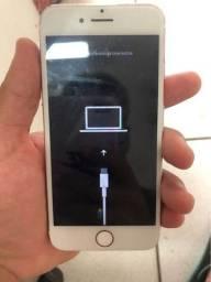 iPhone 7 32 GB . não sai dessa tela