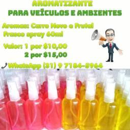 Aromatizante automotivo / Cheirinho De Carro
