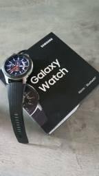 R$ 1.190 Smartwatch Samsung Galaxy Watch - Seminovo - Na Caixa - Nota Fiscal