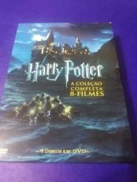 Título do anúncio: Harry Potter Coleção Completa 8 DVDs Box