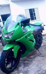 Ninja 250r verde 2010
