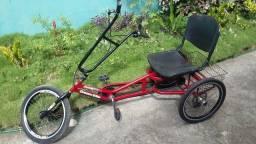 Título do anúncio: Triciclo Dream Bike Praiano Vermelho