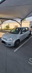 Título do anúncio: Fiat Uno Vivace Prata 1.0 Completo