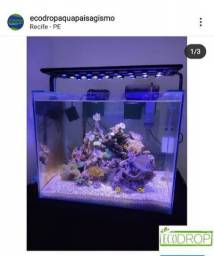 Luminária para aquário sob medida