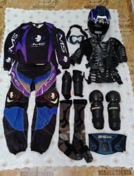 Título do anúncio: Kit roupa motocross