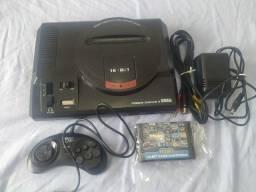 Título do anúncio: Sega mega drive 2 com cartucho 112 jogos