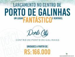 Porto City | 1 Quarto | 21m² | Flats em Porto de Galinhas