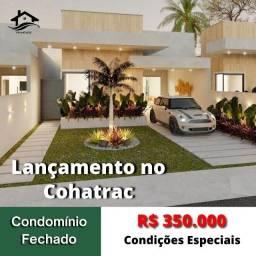 Lançamento no Cohatrac Casa em Condomínio com 3 Suítes, Obras em Andamento