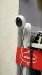 Camera com áudio e Microfone