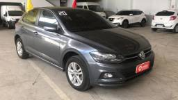VW - Polo Comfortline 200 TSi AT 1.0 Completo - Cinza