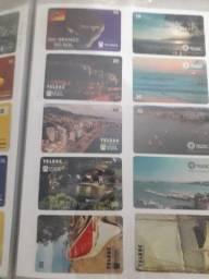 Coleção de cartões telefônicos R$ 80,00