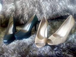 Título do anúncio: Sapatos 36 aceito proposta