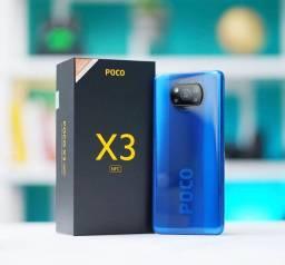 Celular Pocophone X3 128GB - Cor azul - Point Mi