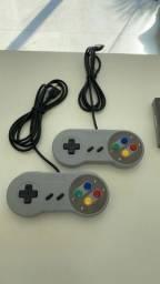 Título do anúncio: Controle Retrô Super Nintendo USB