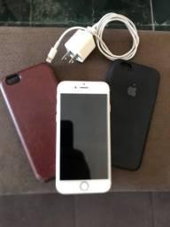 Título do anúncio: iPhone 6s  16 gigas Rose