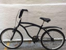 Beach bike c/ amortecedor e para-lama