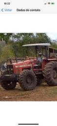 Trator pneu mf 283 traçado