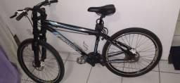 Bike aro 26 freio hidráulico 21 marchas