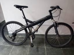 Vendo Bicicleta Caloi T-type Alumínio 21 V Preto Fosco